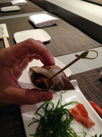 Sushi of Gari 46 : Lesma! parece feio mas estava bom hehe