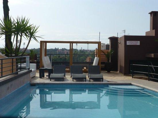 Hotel Fashion: piscine sur la terrasse