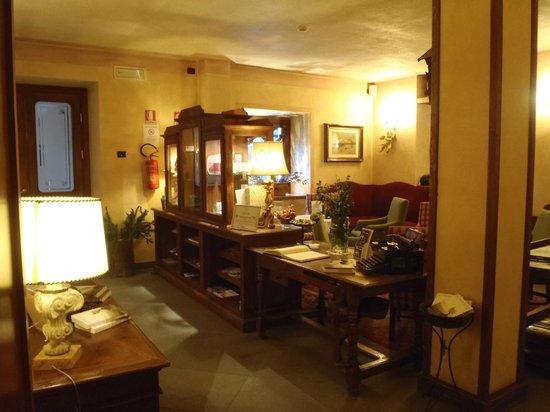 Villa Novecento Romantic Hotel : Reception
