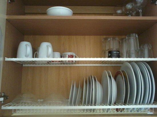 Pilve Apartments: Kitchen