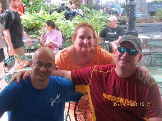 raffel left and company picture of gazebo cafe new orleans