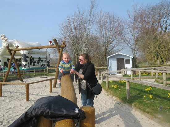 Farmer Palmer's Farm Park: fun with mum