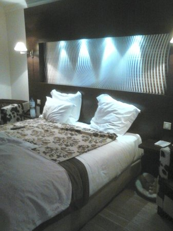 Villa Morelia: chambre moderne et confortable