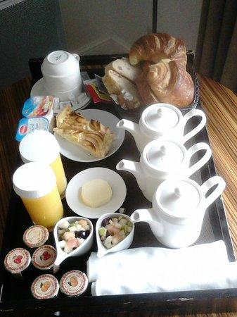 Villa Morelia: le petit déjeuner