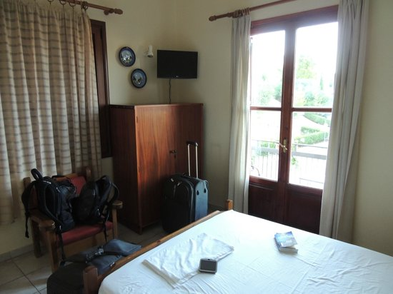 Pension Posidon: Chambre