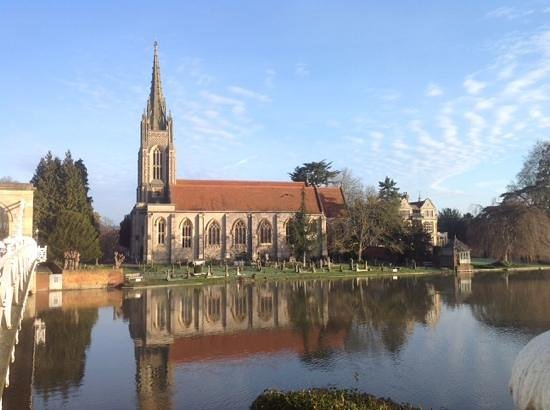 Macdonald Compleat Angler: The view from the lawn of the hotel.