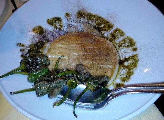 Restaurante La Tragantúa : Provolone grillé