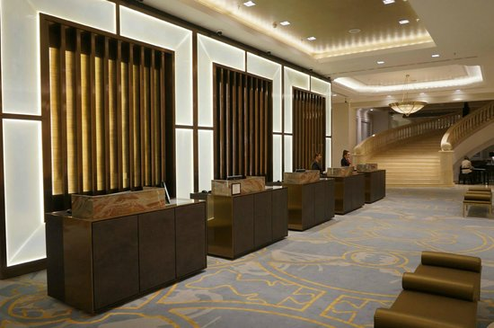 JW Marriott Bucharest Grand Hotel : Reception.