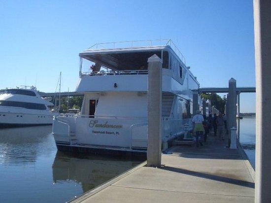 Hammock Beach Resort: Sunday Brunch Cruise Boat