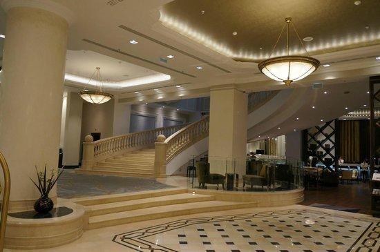 JW Marriott Bucharest Grand Hotel : Lobby.