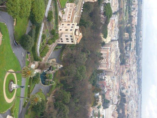 Vatican Gardens: Jardins do alto