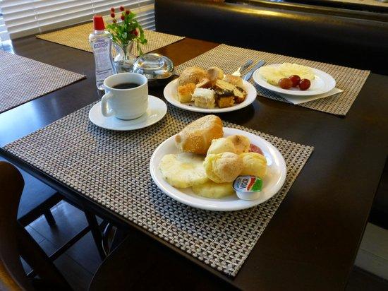 Hotel Porto da Ilha: Salão de café da manhá