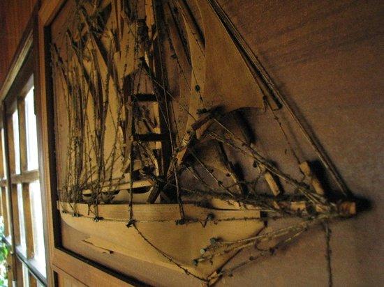 Hostel Backpackers Refugio Del Mochilero: Old Boat