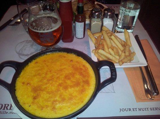 La Chicoree: le welsh simple