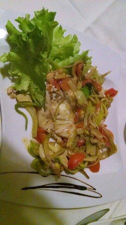 Nerino Dieci Trattoria : Sea bream with leek and artichoke