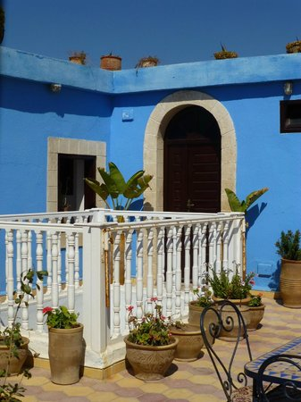 Riad Le Grand Large: la terrasse
