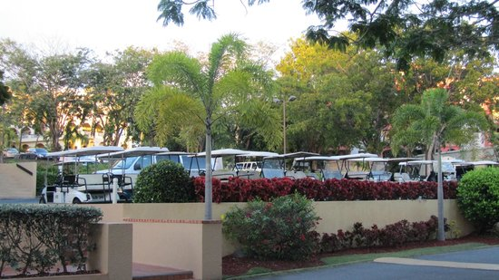 Park Royal Puerto Rico at Club Cala: golf carts on property available to rent