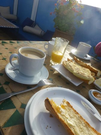 Riad Le Grand Large: le petit déjeuner