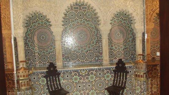 Helnan Chellah Morocco : Linda imagem do hall