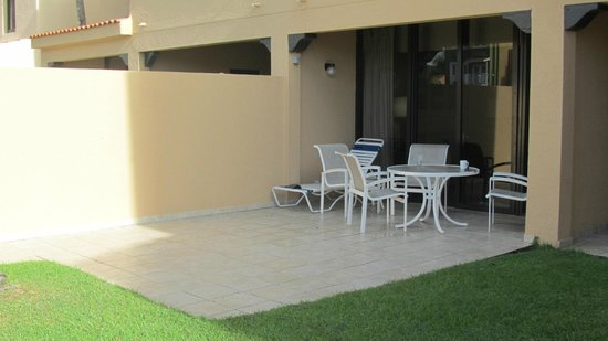 Park Royal Puerto Rico at Club Cala: Our outside patio area