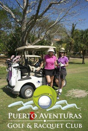 Puerto Aventuras Golf & Racquet Club: Golf para damas,
