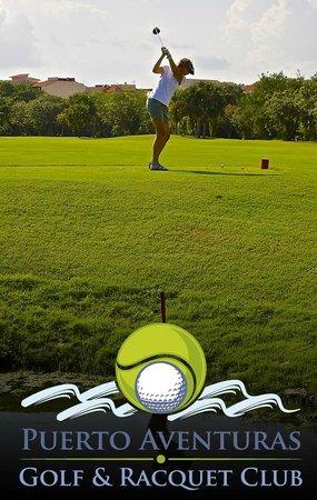 Puerto Aventuras Golf & Racquet Club: Más golf en Puetto Avnturas Golf & Racquet Club