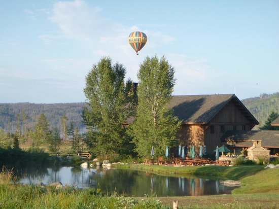 Vista Verde Guest Ranch: Hot Air Ballooning
