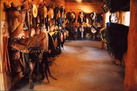 Vista Verde Guest Ranch: Tack Room