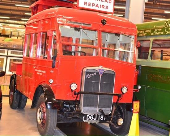 London Transport Museum Depot: LT vehicle.