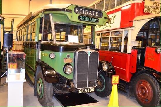 London Transport Museum Depot: Depot display.