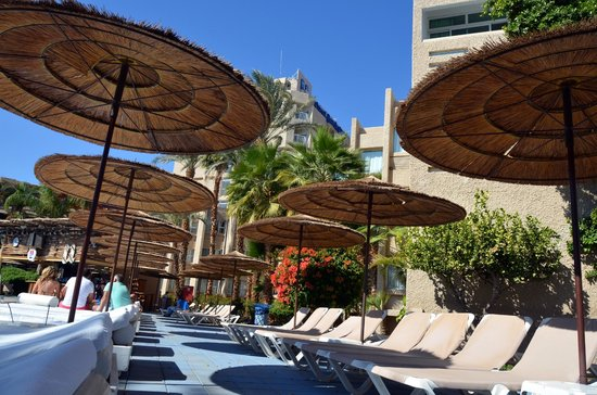 U Coral Beach Club Eilat: The hotel
