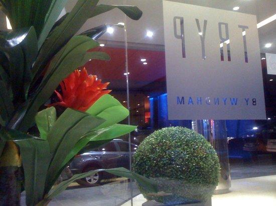 Tryp by Wyndham Panama Centro: El ingreso