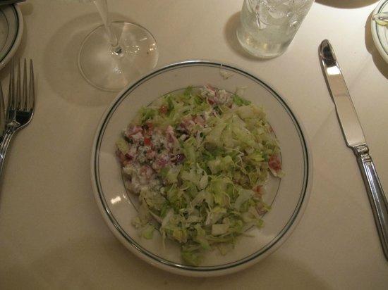 "Joe's Seafood Prime Steak & Stone Crab: 1/2 of a ""To Share"" Chopped Salad"