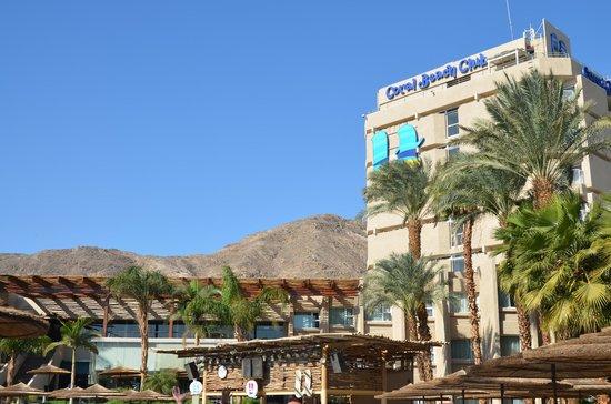 U Coral Beach Club Eilat: The hotel