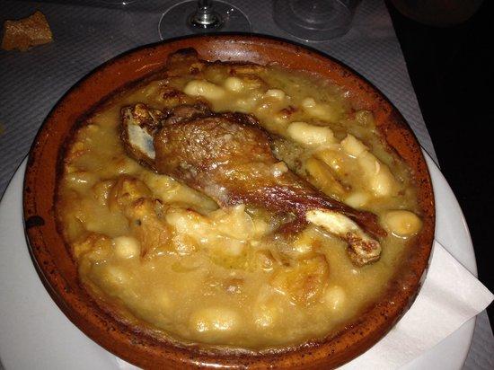 Restaurant Adelaide : Cassoulet maison (menu à 16€)