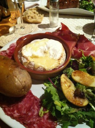 La Rambalade : Camembert rôti