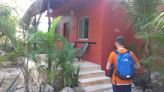 Villa Tortugas Residence : Our patio