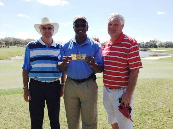 Grand Cypress Golf Club: Jeff, Felton & Tim