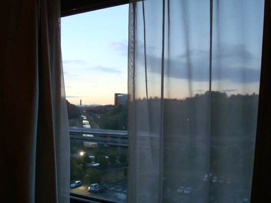 ANA Crowne Plaza Hotel Narita: view from my room2