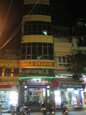 Hanoi City Hostel: Вид на отель