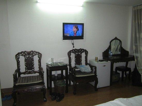 Hanoi City Hostel: Улучшенный номер