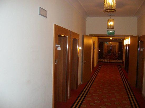 Sofitel Grand Sopot : korytarz