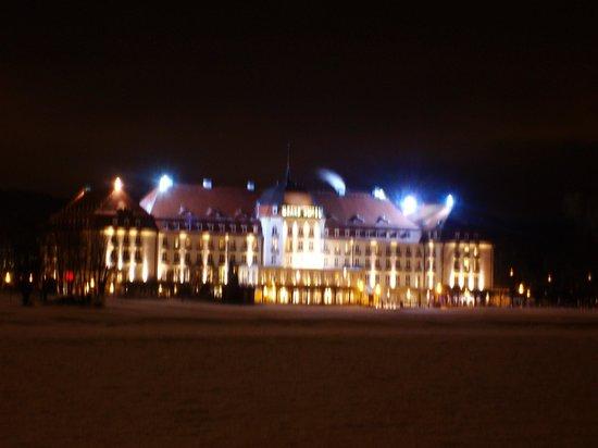 Sofitel Grand Sopot: by night