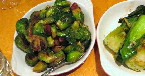 ALTAeats: brussel sprouts, bak-choy
