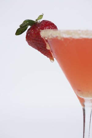 Plum Island Grille: Strawberry Champagne-tini