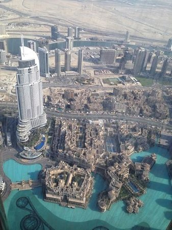 At.Mosphere: The best view from the 122 floor - Atmosphere Restaurant, Armani Hotel Dubai
