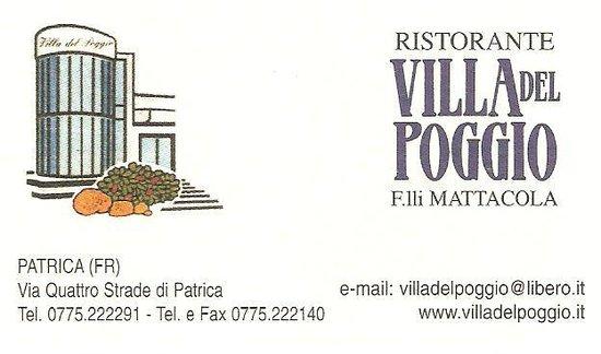 Villa Del Poggio Via Quattro Strade Di Patrica