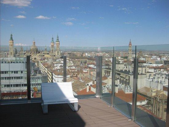 Alfonso Hotel: terraza