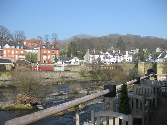 View from The Corn Mill Terrace