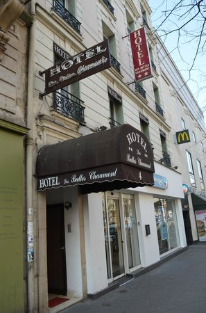 Eingang des Hotel des Buttes Chaumont